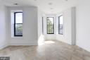 2nd bedroom has abundant natural light - 1712 15TH ST NW #3, WASHINGTON