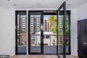 Gorgeous walls of windows and glass doors - 1712 15TH ST NW #3, WASHINGTON