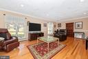Formal living room - large windows. - 5302 IJAMSVILLE RD, IJAMSVILLE