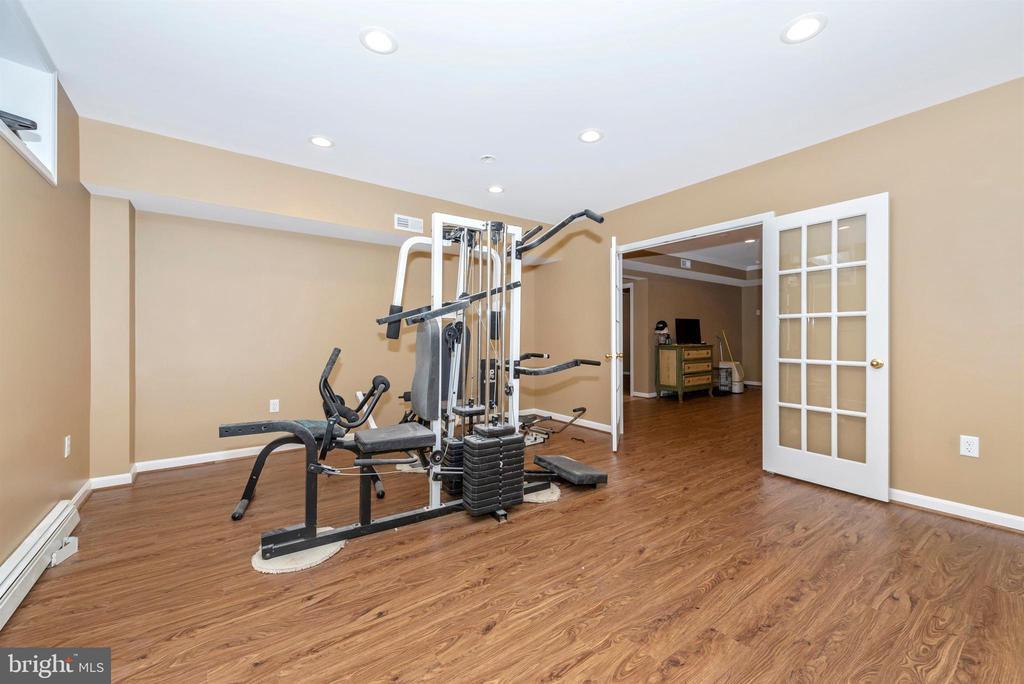 Lower level bonus room. - 5302 IJAMSVILLE RD, IJAMSVILLE