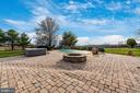 Hot tub and firepit area. - 5302 IJAMSVILLE RD, IJAMSVILLE