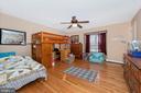 Second upper level bedroom. - 5302 IJAMSVILLE RD, IJAMSVILLE