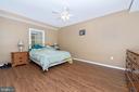 Lower level bonus guest room. - 5302 IJAMSVILLE RD, IJAMSVILLE