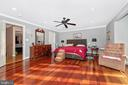 Master suite with private bath. - 5302 IJAMSVILLE RD, IJAMSVILLE