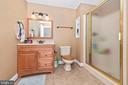 Lower level full bathroom. - 5302 IJAMSVILLE RD, IJAMSVILLE