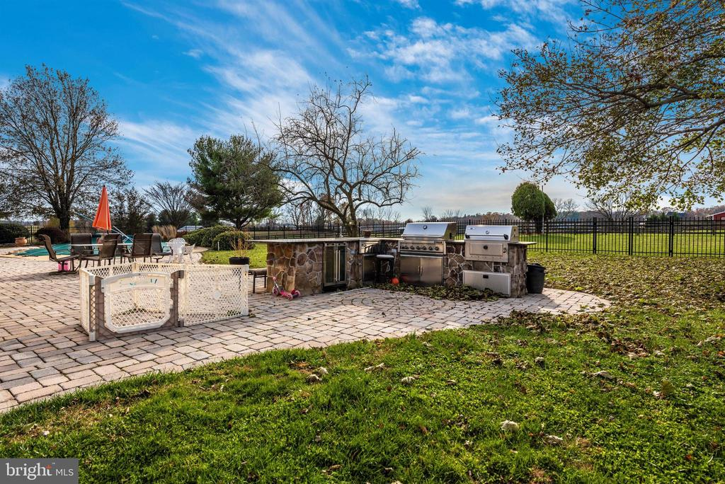 Great outdoor kitchen - imagine your next cookout! - 5302 IJAMSVILLE RD, IJAMSVILLE