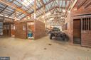 Inside of building - three stalls. - 5302 IJAMSVILLE RD, IJAMSVILLE