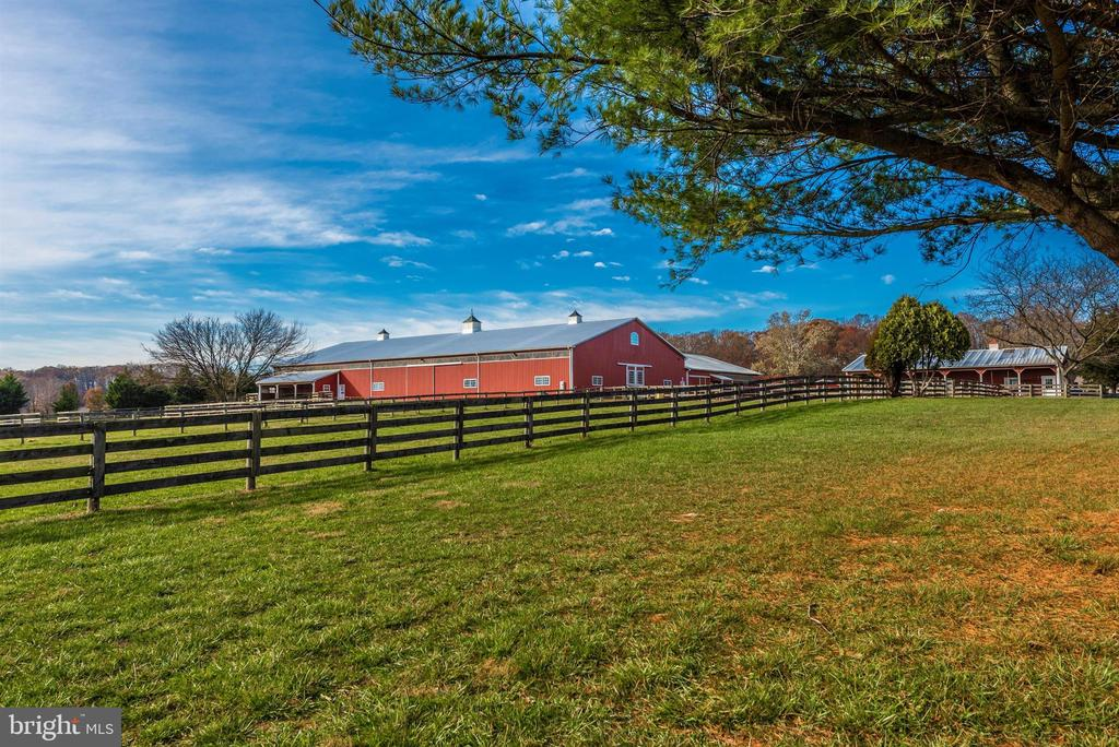 Exterior pasture areas with fencing. - 5302 IJAMSVILLE RD, IJAMSVILLE