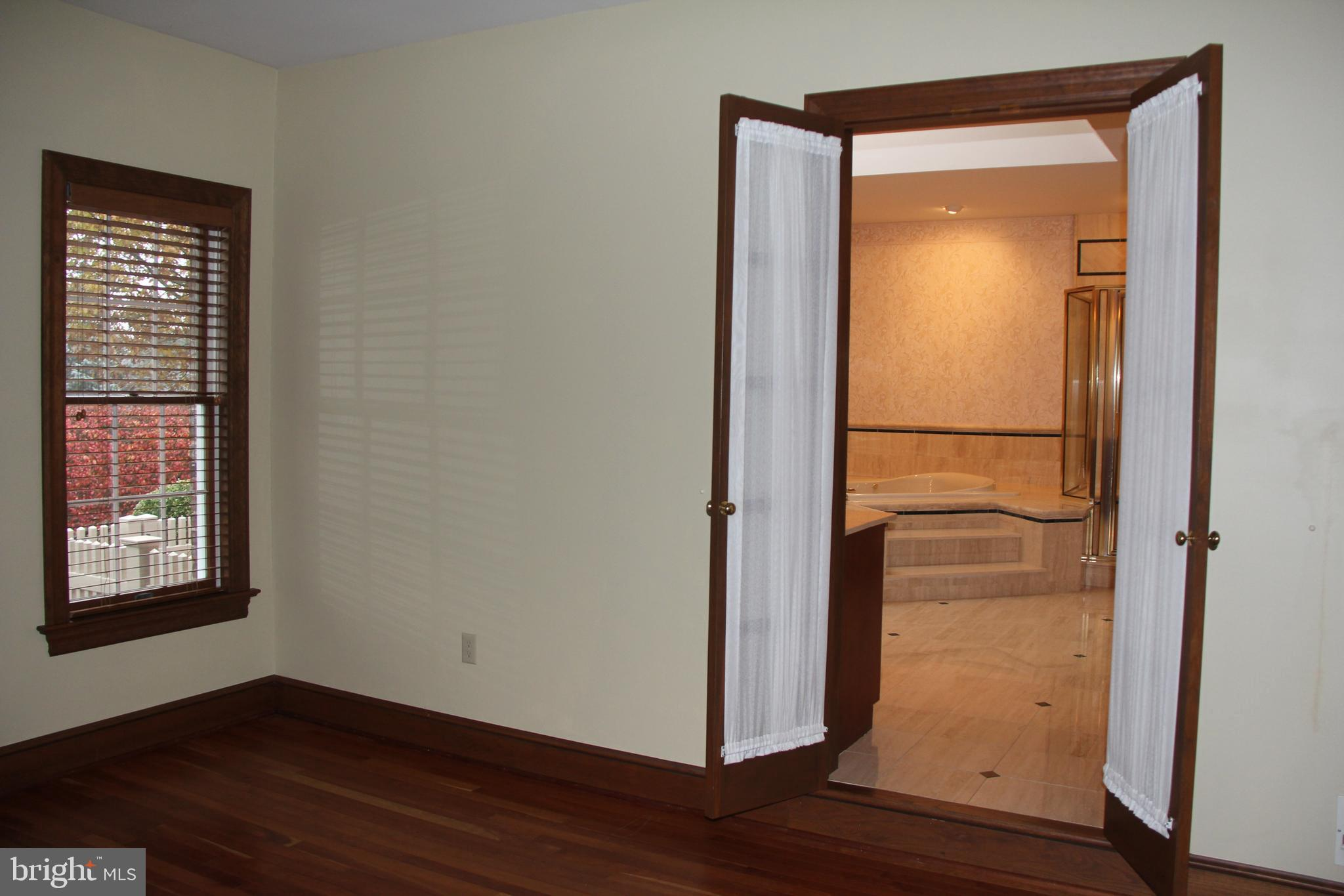 Looking into the Master Bath Room