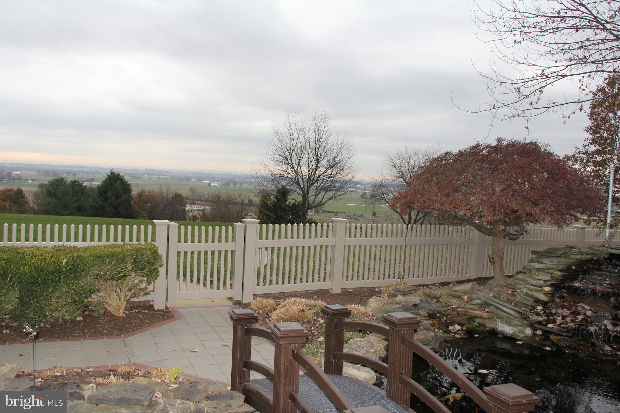 View into  Lovely Lancaster County Farm Land