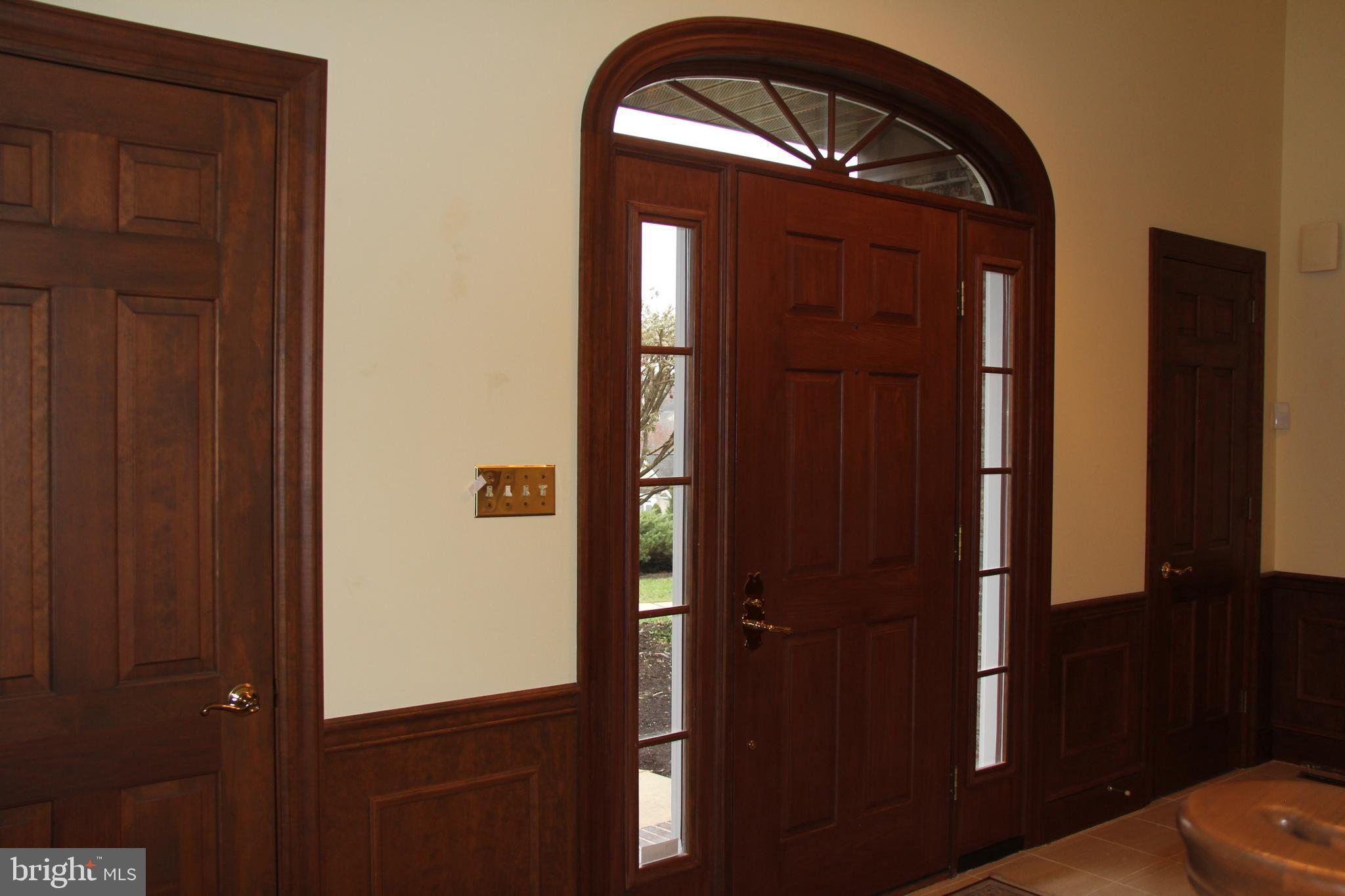 Two Story Entrance and Foyer