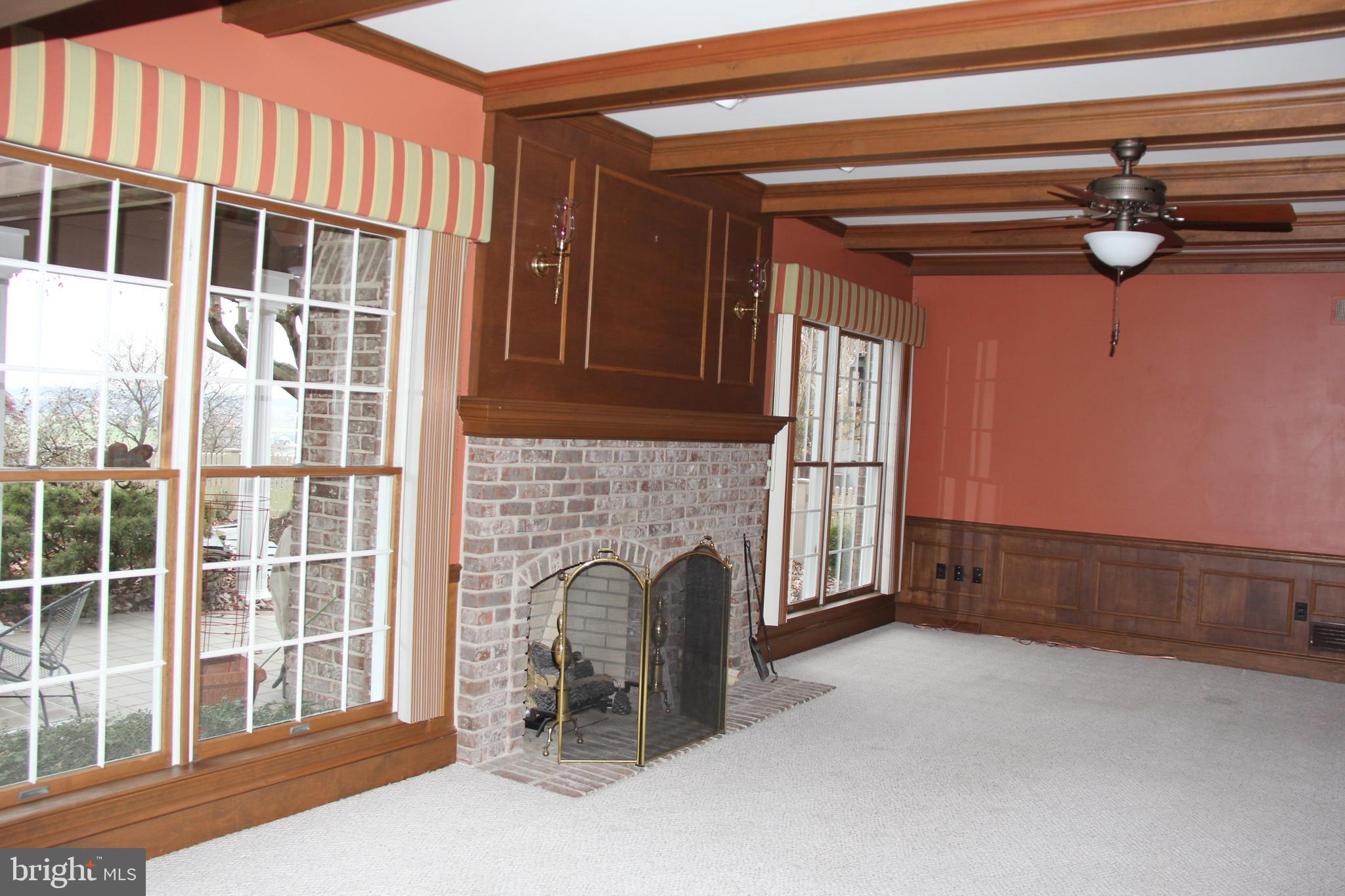 Family Room off the Kitchen Area