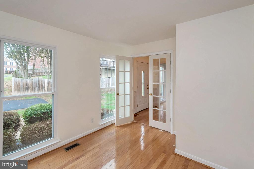 Study/Office with French Doors - 64 BRITTANY LN, STAFFORD