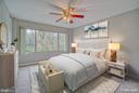 Master Bedroom (virtually staged) - 10570 MAIN ST #520, FAIRFAX