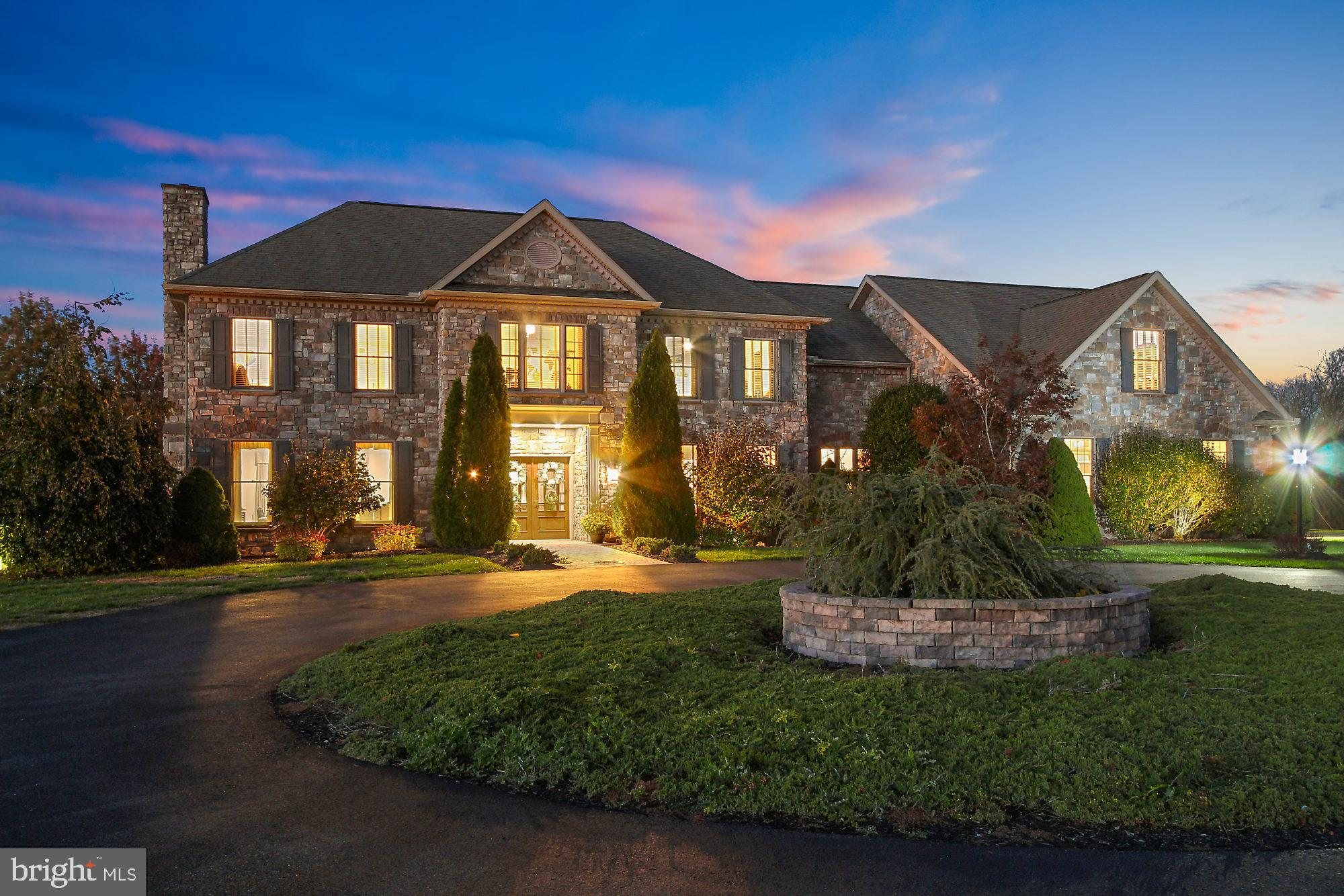 Stunning All Stone Home