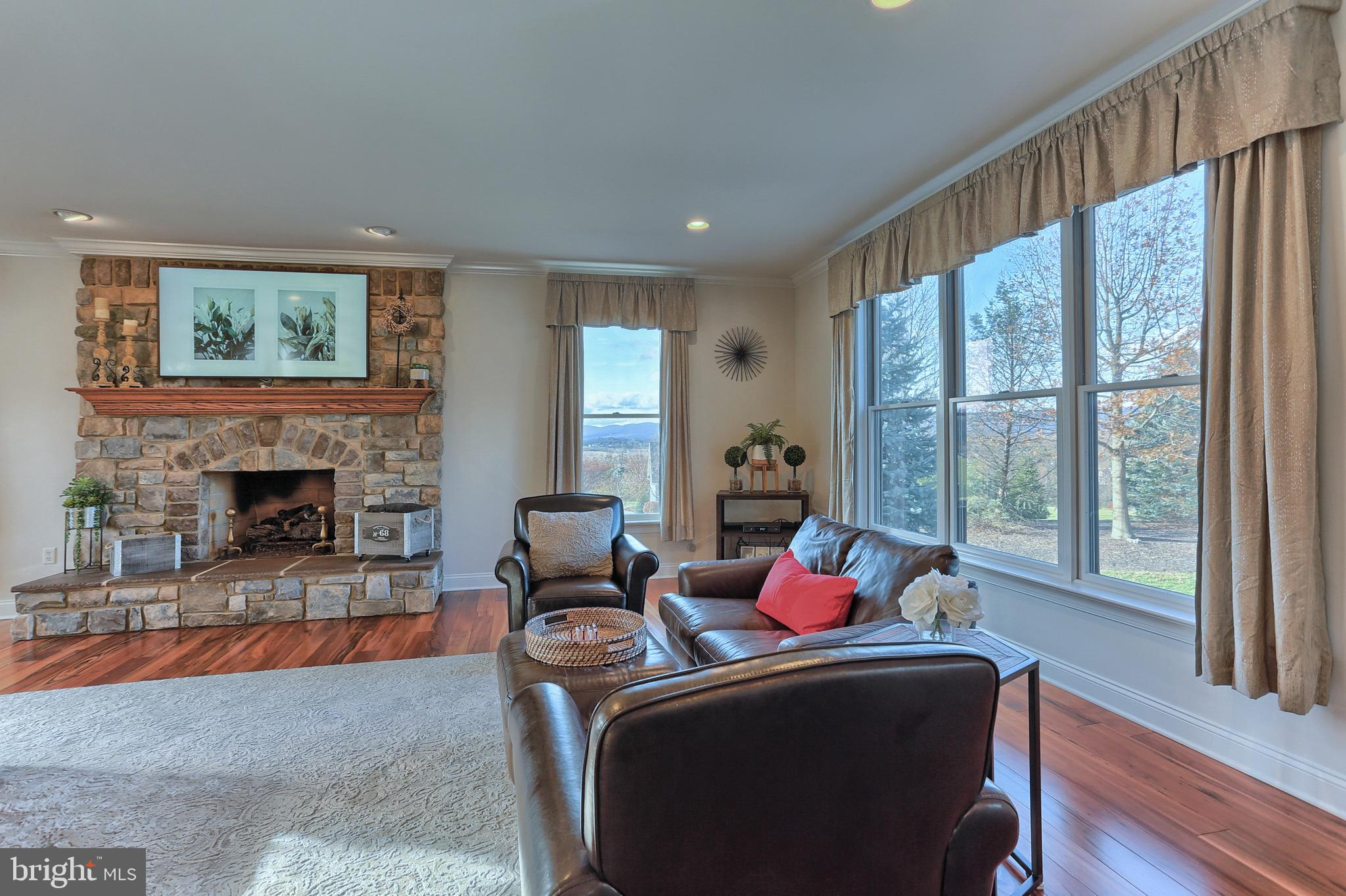 Breathtaking Mountain Views from Family Room