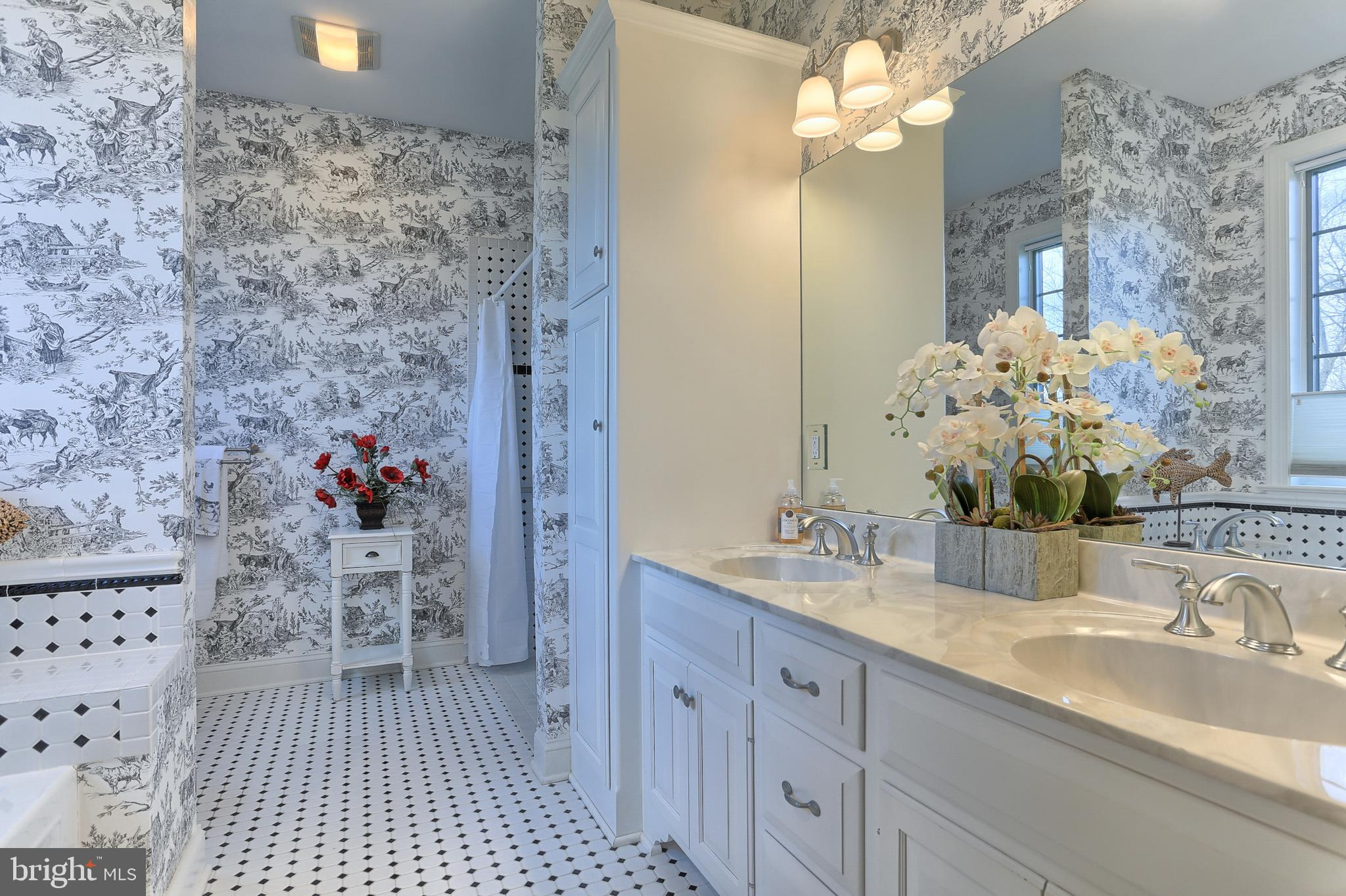 Full Bath in Entertainment Space