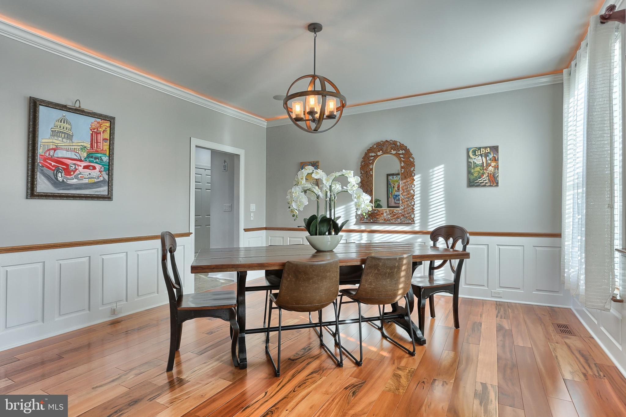 Elegant Yet Functional Dinning Room