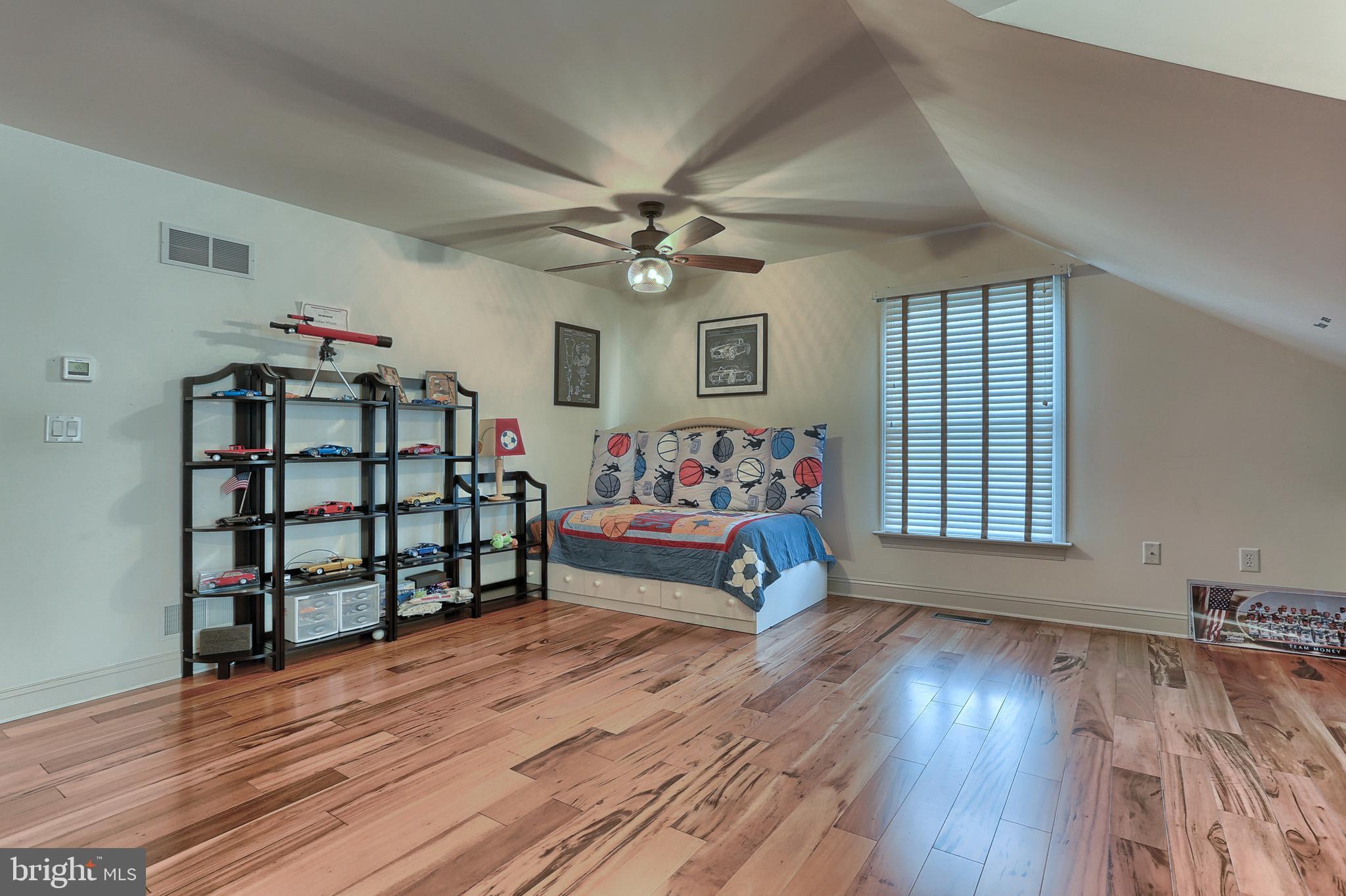 Beautiful Hardwoods in Bedroom 4