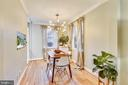 Separate dining space - 3327 S STAFFORD ST, ARLINGTON