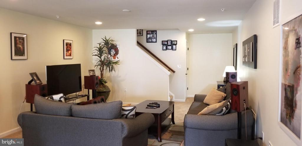 Living Room Lower Level - 180 LONG POINT DR, FREDERICKSBURG