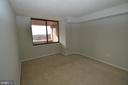 Large window in bedroom for natural light - 10101 GROSVENOR PL #1919, ROCKVILLE