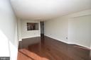 Open floor plan - 10101 GROSVENOR PL #1919, ROCKVILLE