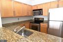 Beautiful updated kitchen open to living area - 10101 GROSVENOR PL #1919, ROCKVILLE
