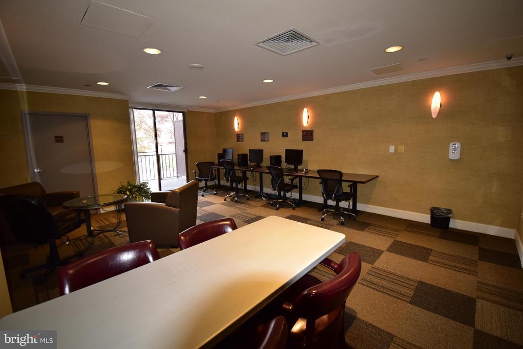 Business center - 10101 GROSVENOR PL #1919, ROCKVILLE