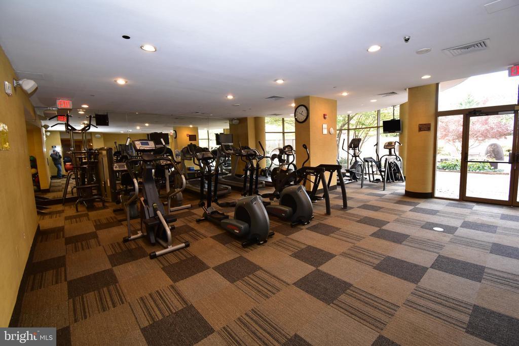 Fitness room - 10101 GROSVENOR PL #1919, ROCKVILLE
