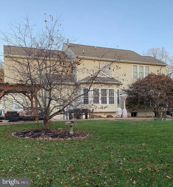 This is the back of the house - 10202 BLAKELY ST, FREDERICKSBURG