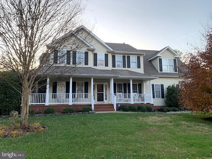 This is the front of the house - 10202 BLAKELY ST, FREDERICKSBURG