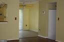 Angle View of Dining Area in Kitchen - 3610 WOOD CREEK DR, SUITLAND