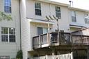 Rear Deck - View - 3610 WOOD CREEK DR, SUITLAND