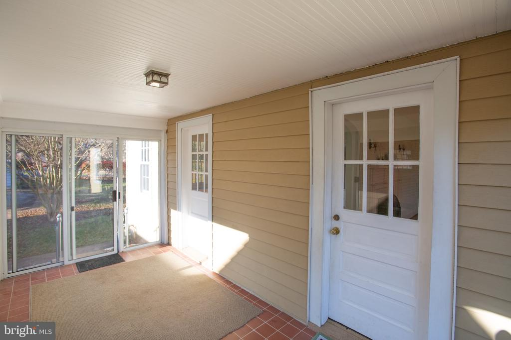Accessed from the Dining or Living Room - 1612 FRANKLIN ST, FREDERICKSBURG
