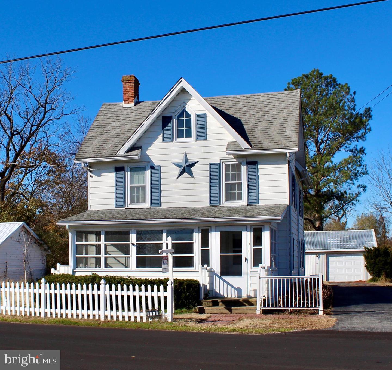 Single Family Homes для того Продажа на Bethel, Делавэр 19931 Соединенные Штаты