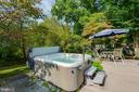 Hot tub great for year round enjoyment - 4301 NORBECK RD, ROCKVILLE