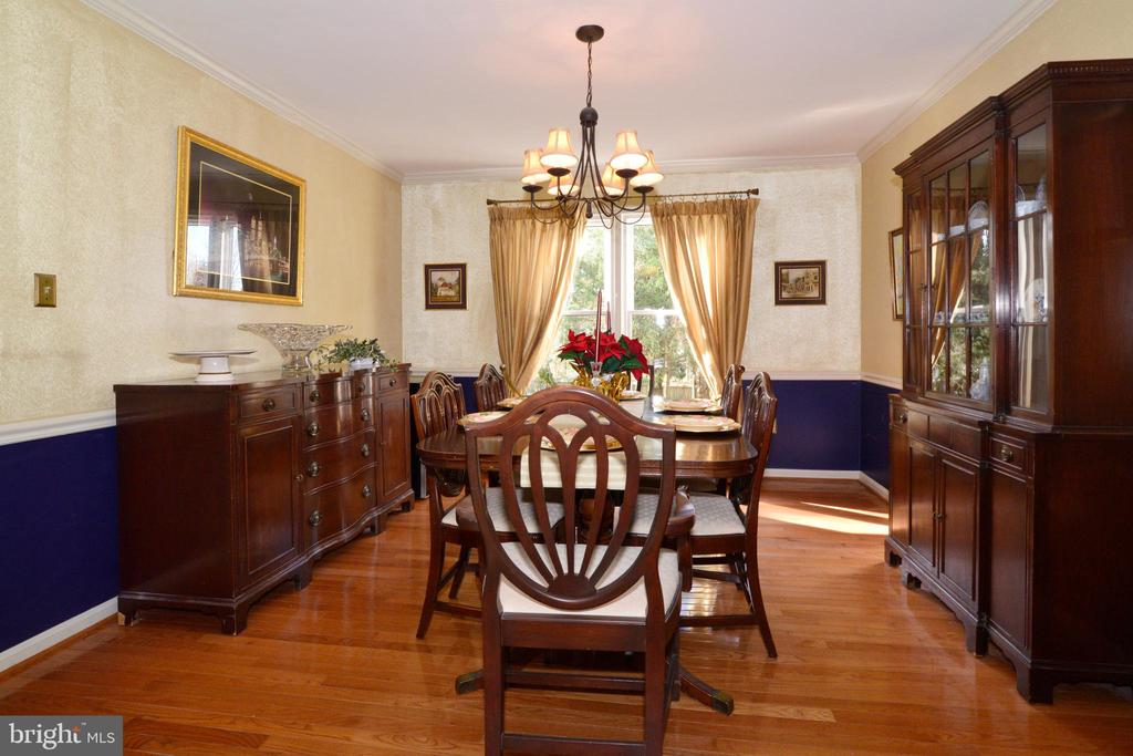 Room for family and friends in Dining Room - 13703 HOLTON PL, CHANTILLY
