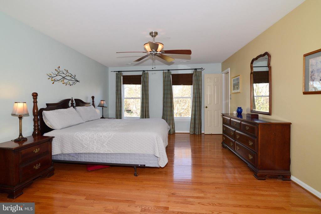 Light filled Master Bedroom - 13703 HOLTON PL, CHANTILLY