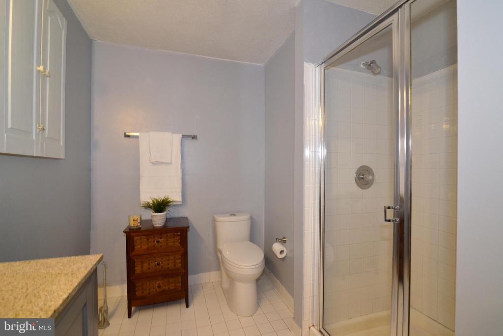 Full bath on the basement level - 13703 HOLTON PL, CHANTILLY