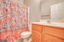 Main Bathroom - 1005 LAKE HERITAGE DR, RUTHER GLEN