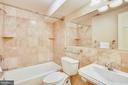 Lower Level Bath - 201 N QUAKER LN, ALEXANDRIA