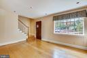 Living Room/Entrance - 201 N QUAKER LN, ALEXANDRIA