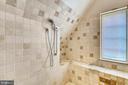 Master Bath Shower - 201 N QUAKER LN, ALEXANDRIA