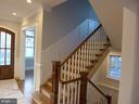 Interior - staircase to upper and lower levels - 2007 N INGLEWOOD ST, ARLINGTON