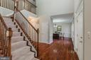 Welcoming 2 Story Foyer - 13232 KAHNS RD, MANASSAS