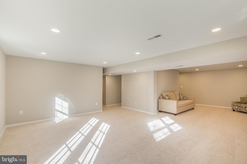 Bright and Open Rec Space - 13232 KAHNS RD, MANASSAS
