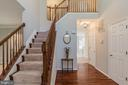 Elegant Hardwood Steps Leading to the Upper Level - 13232 KAHNS RD, MANASSAS