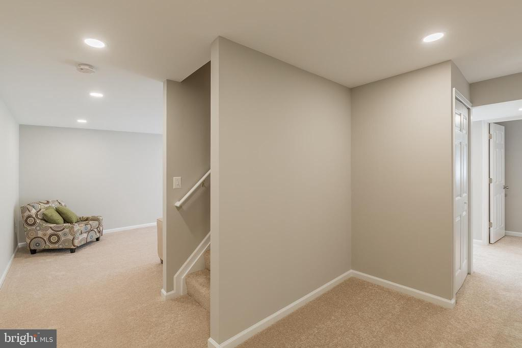 Newly Finished Lower Level - 13232 KAHNS RD, MANASSAS