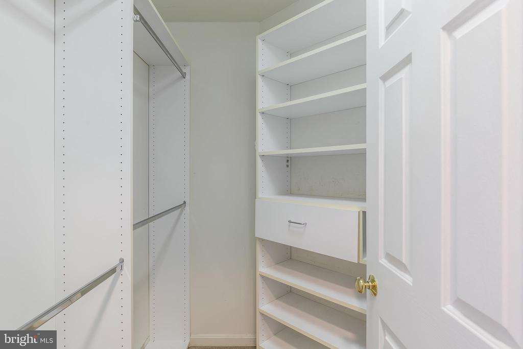His and Hers Walk-In Closets - 13232 KAHNS RD, MANASSAS